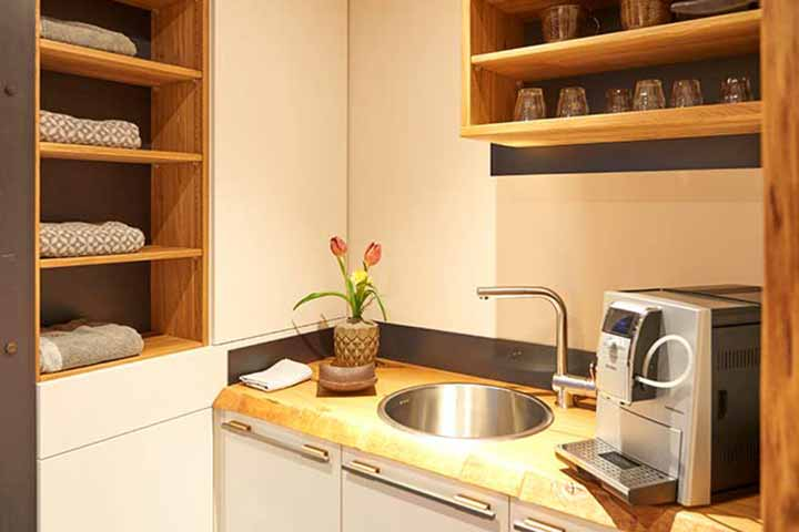 Aussensauna Le Spacube Le Kitchen